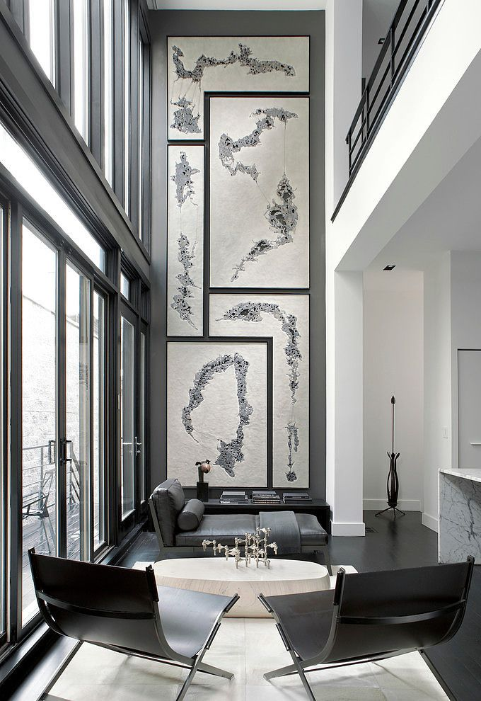 Remodelaholic 24 Ideas On How To Decorate Tall Walls