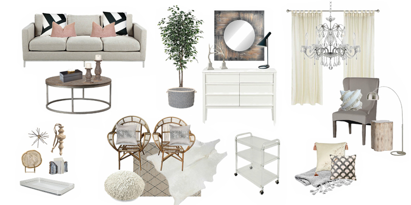 Remodelaholic Decorating With Style Rustic Glam