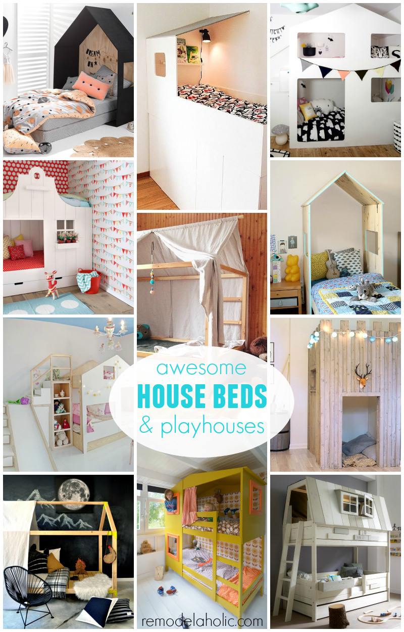Remodelaholic House Shaped Beds Galore