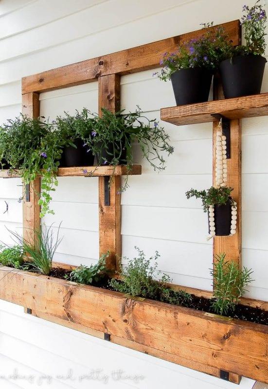 Raised Garden Patio Ideas