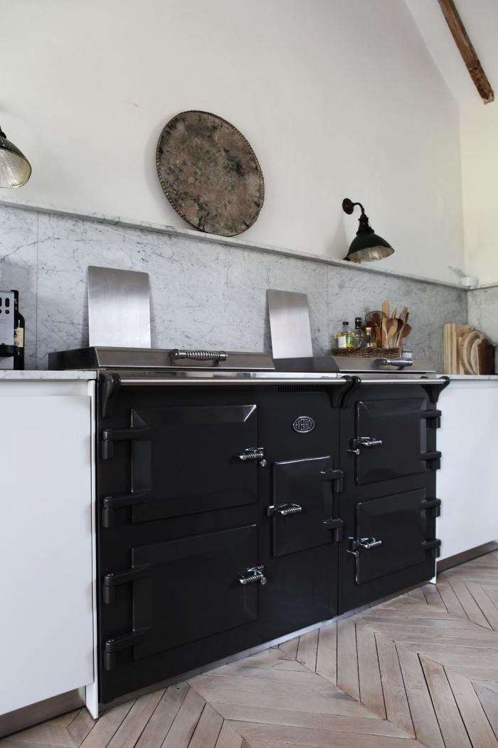 Modern Kitchen Design Aga