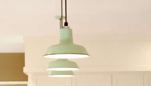 Jadeite Pendant Light
