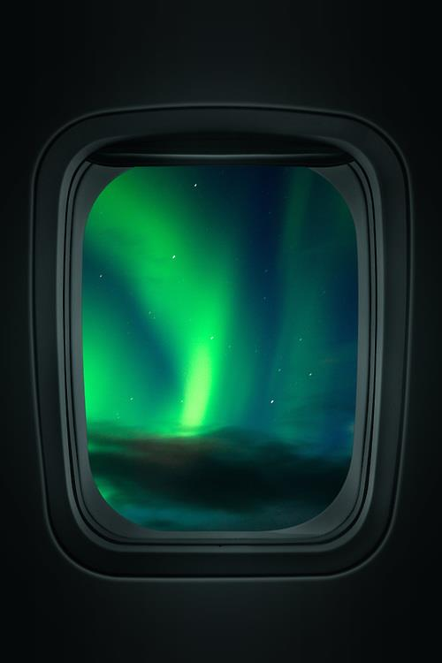 Northern Lights Iceland Airport