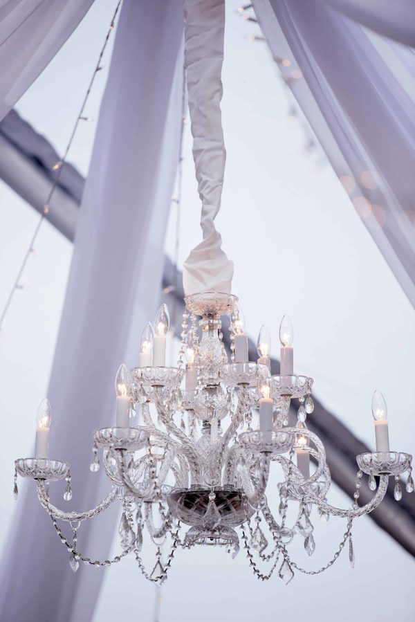crystal chandelier tiered # 44