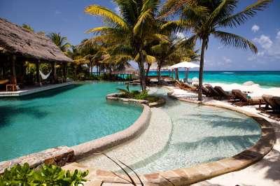 Bali Houses, Necker Island