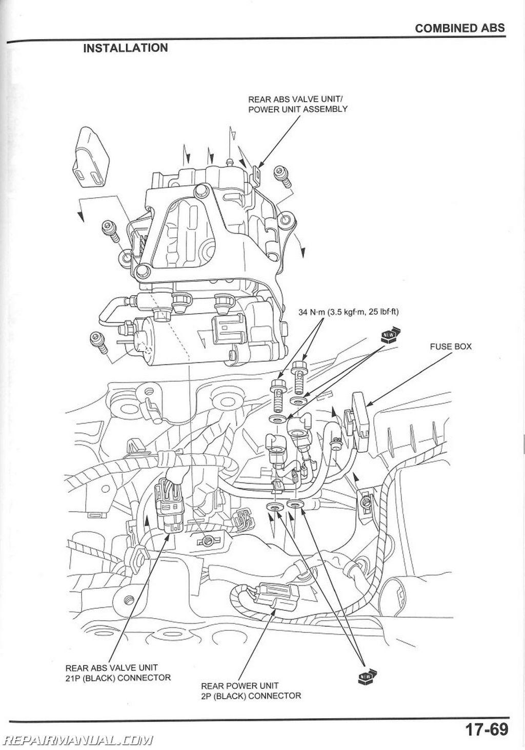 Nissan Quest Parts Catalog 2008 Fuse Box