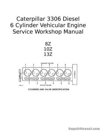 free caterpillar engine manuals online # 22