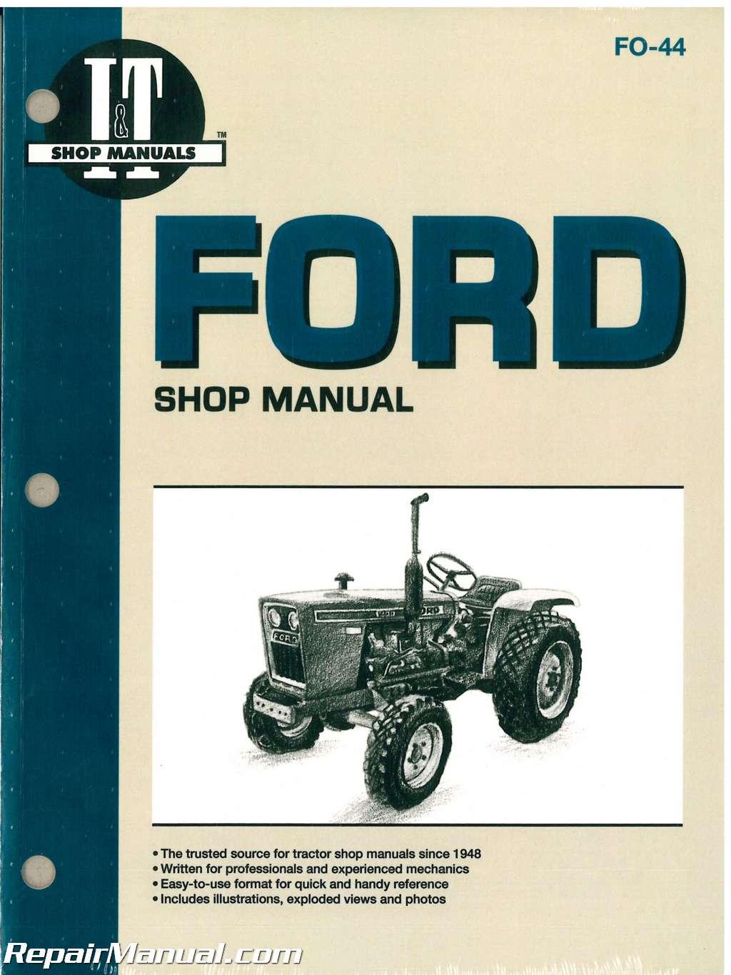 Ford 1710 Parts Manual