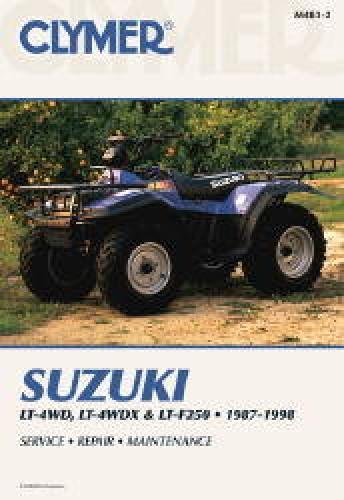 Suzuki 1989 4wd Quadrunner Parts