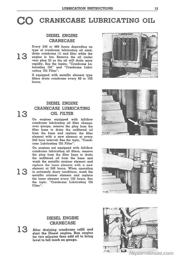 free caterpillar engine manuals online # 30