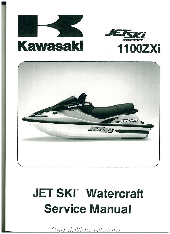 1100 Kawasaki Zxi 1999 Manual