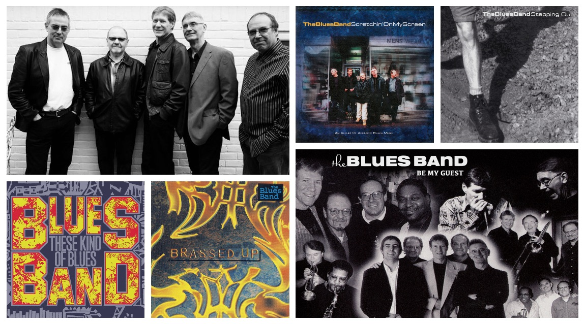 5 Classic CD Reissues by The Blues Band - Repertoire Records