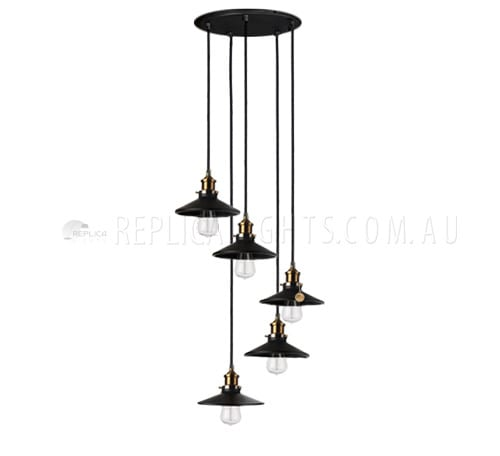 industrial cluster pendant lighting # 38