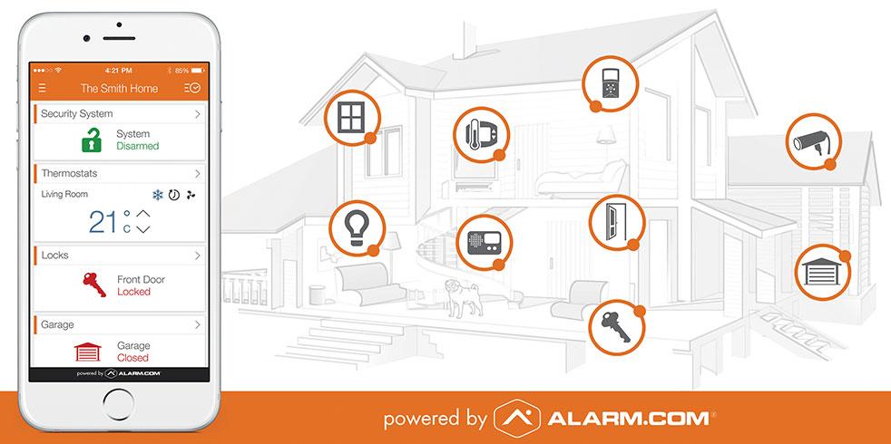 Best Alarm Service Home