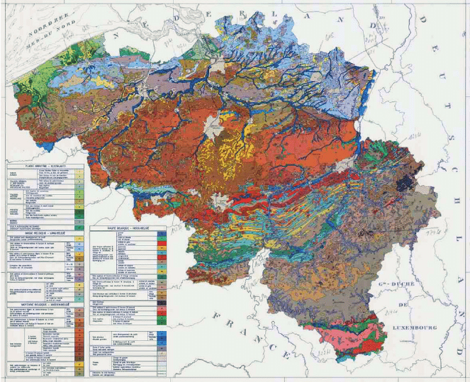 Soil map of Belgium Source    ec europa eu esdb archive     Soil map of Belgium Source    ec europa eu esdb archive  EuDASM