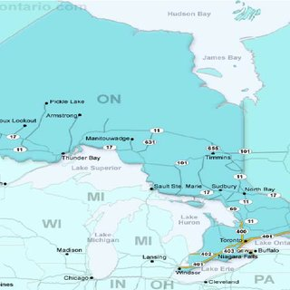 Map of Ontario Province  Canada   Download Scientific Diagram Map of Ontario Province  Canada