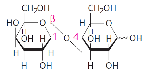 Estrutura molecular da Lactose na perspectiva de Haworth ...