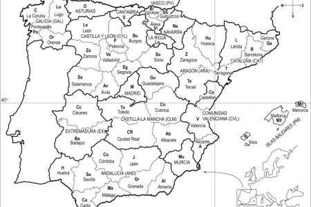 map spain provinces » Free Wallpaper for MAPS | Full Maps