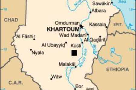sudan location map » Full HD MAPS Locations - Another World ...