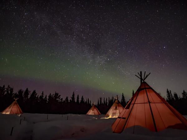 Tracking Northern Lights