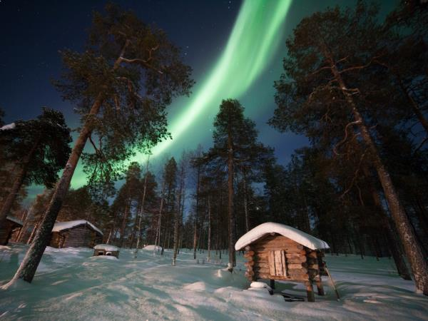 Lake Inari Northern Lights