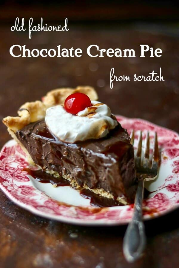 Homemade Chocolate Pie Recipe From Scratch Restless Chipotle