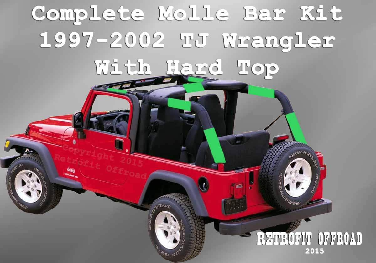 Top Wrangler Jeep Tj Half Hard