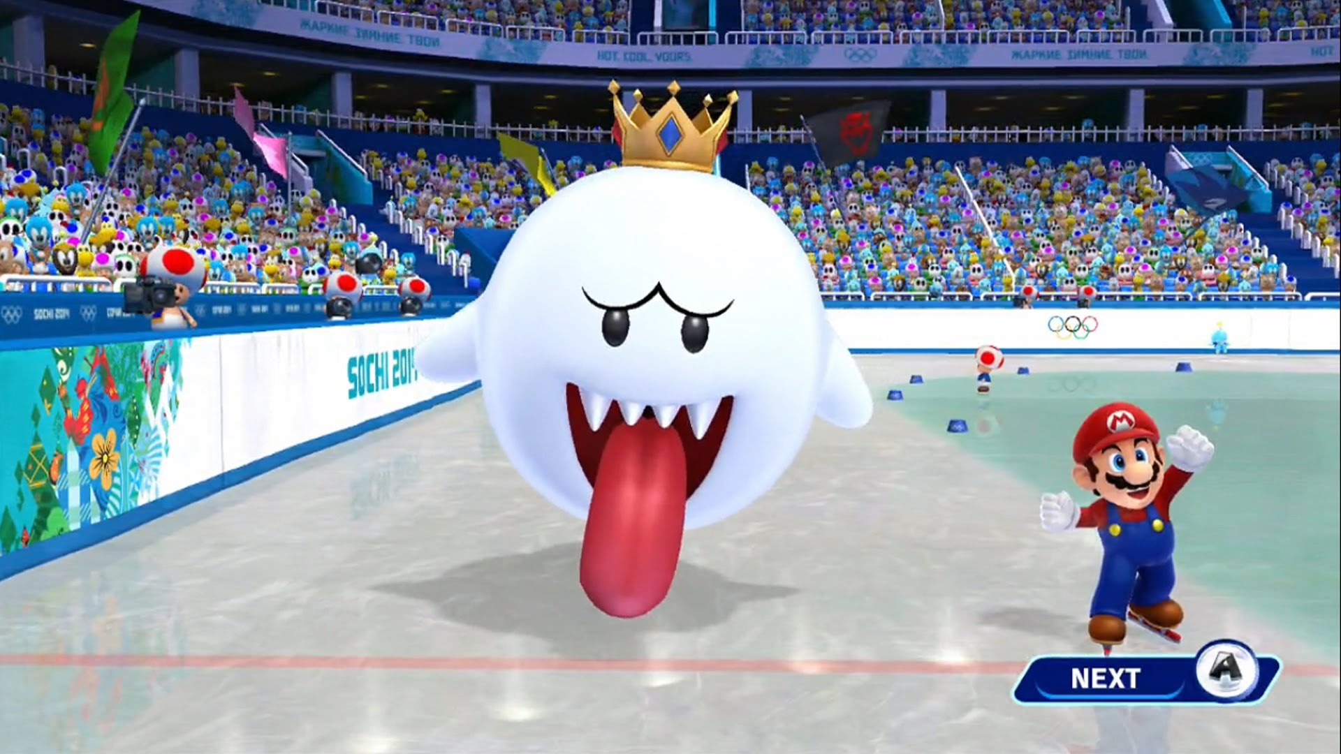 Mario and Sonic at the Olympic Winter Games Wii   RetroGameAge