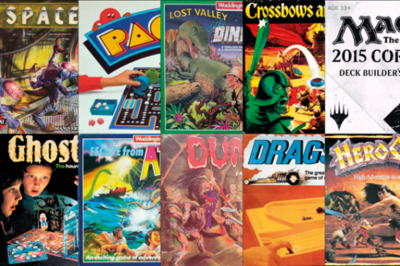 Top 10   Retro Gamer Top Ten Classic Board Games