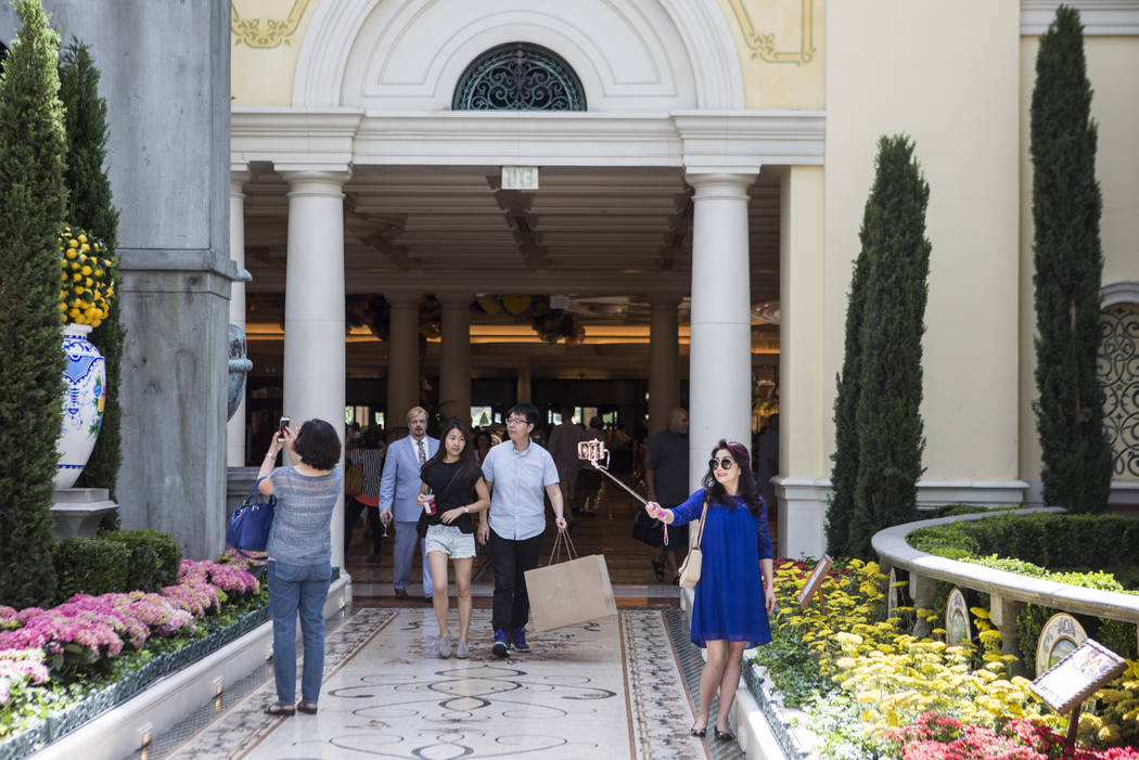 Bellagio Debuts Italian Inspired Summer Garden Display