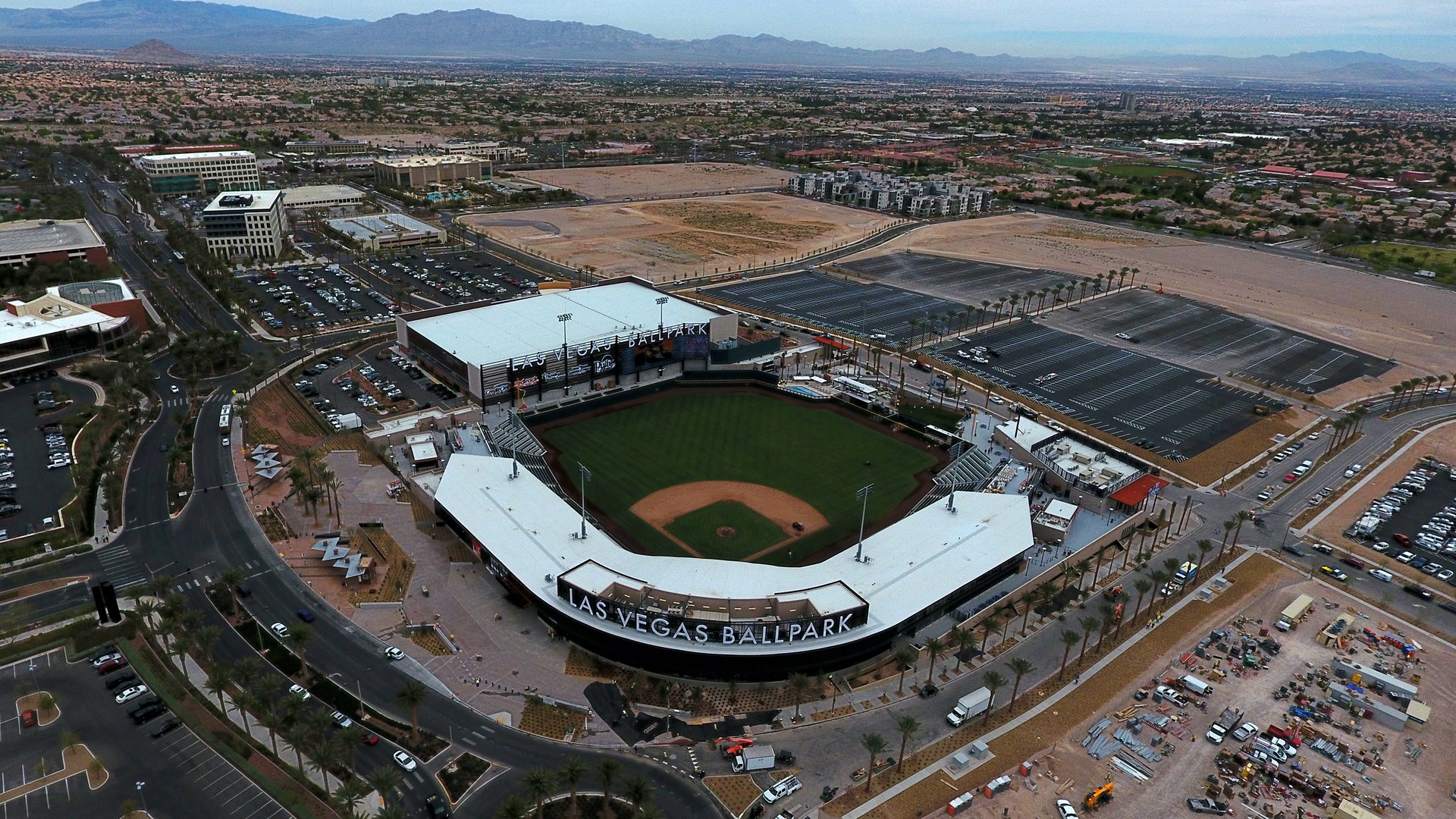Las Vegas Finally Gets A Ballpark That S A Destination