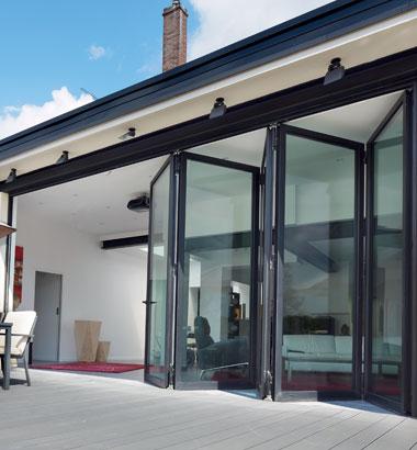 Aluminium Slim Frame Bifold Doors Reynaers At Home