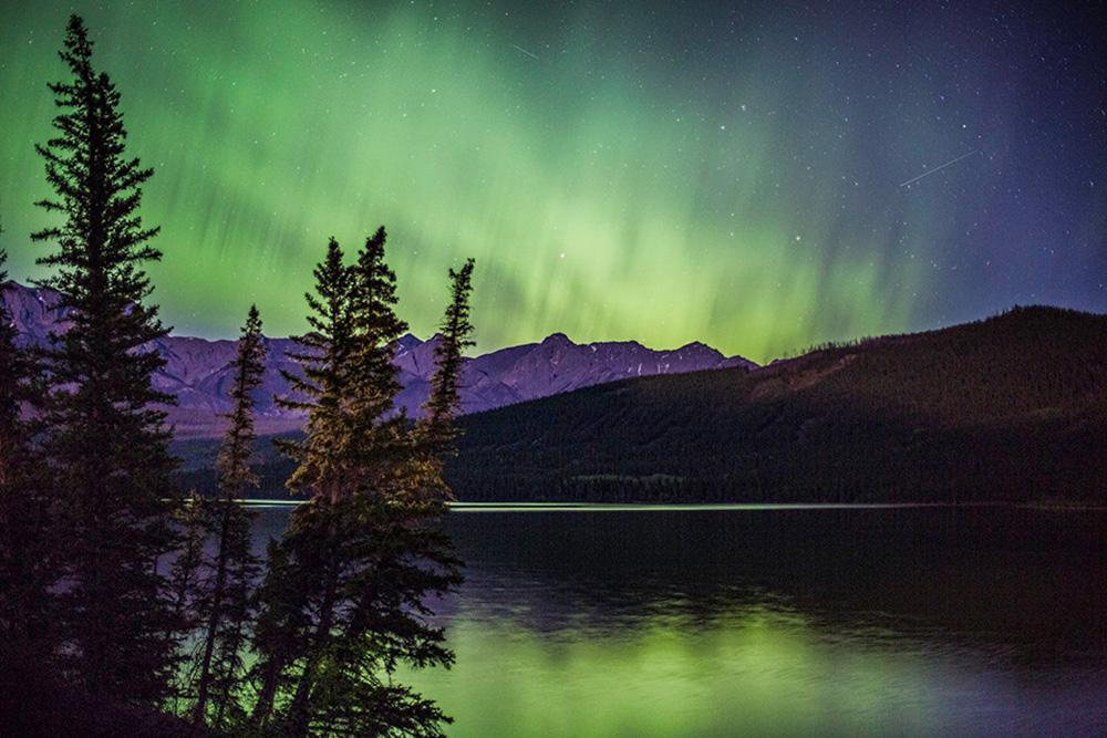 Northern Lights Jasper August