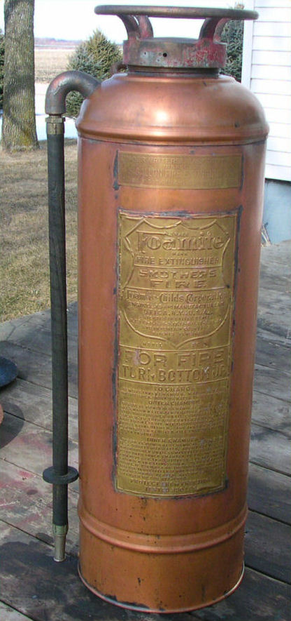 Riches For Less: Rare Antique Fire Extinguisher