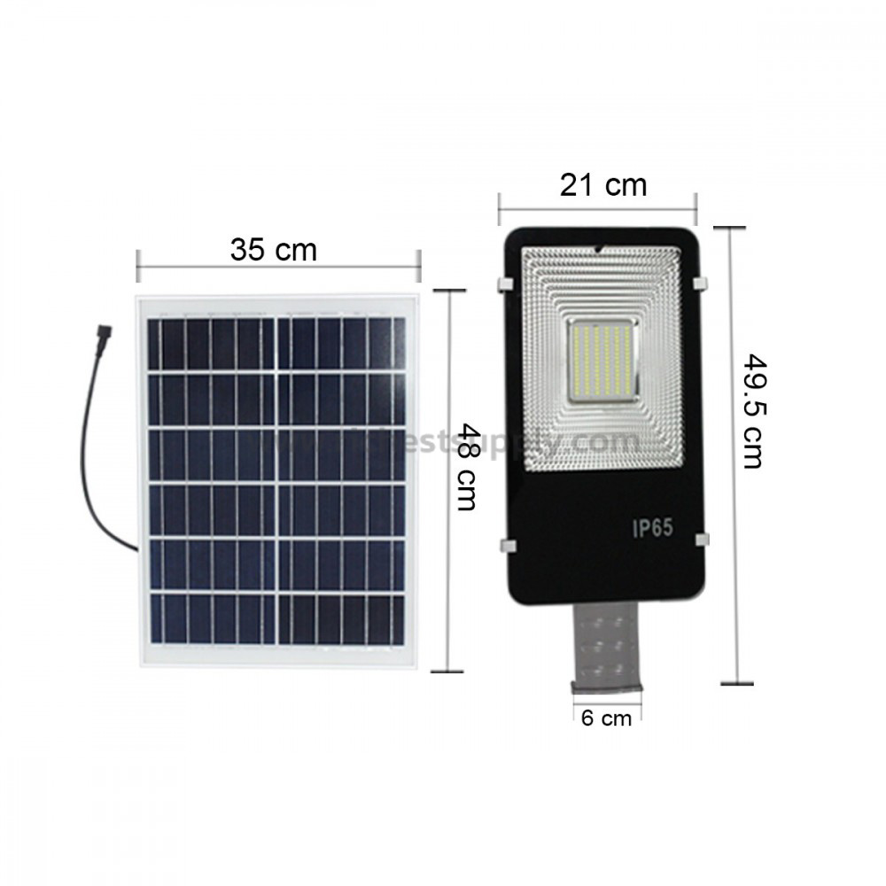Solar cell panel and street lamp IWACHI 100w