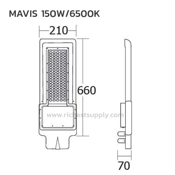 DIMENSION 150W BEC MAVIS