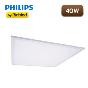 โคมไฟฝังฝ้า Panel Light LED 40w Philips SmartBright LED Slim
