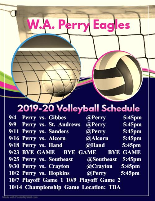 2nd seed volleyball schedule - 500×647