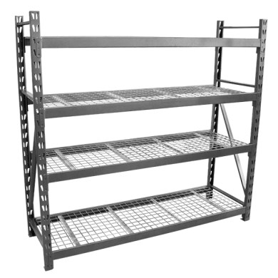3000kg Steel Mesh Shelving Unit  ISR003    Richmond Wheel   Castor Co 3000kg Steel Mesh Shelving Unit  ISR003