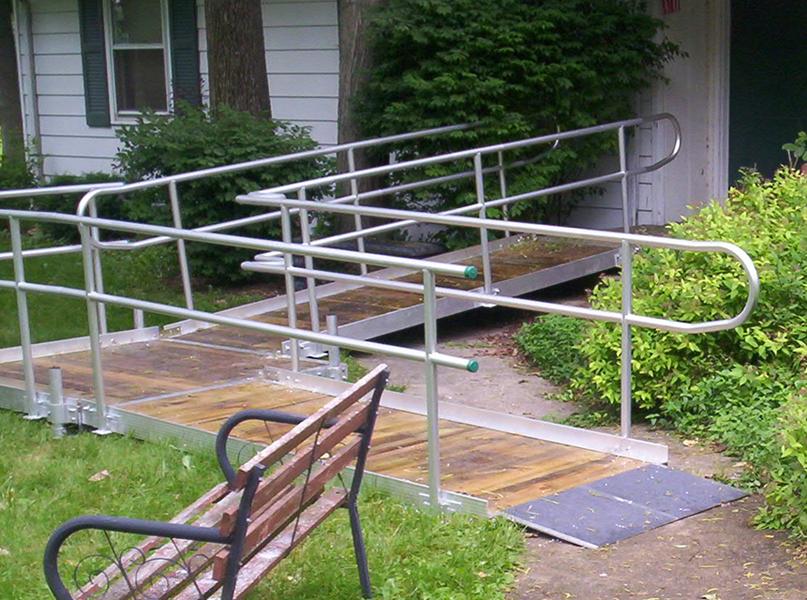 Aluminum Handicap Ramps