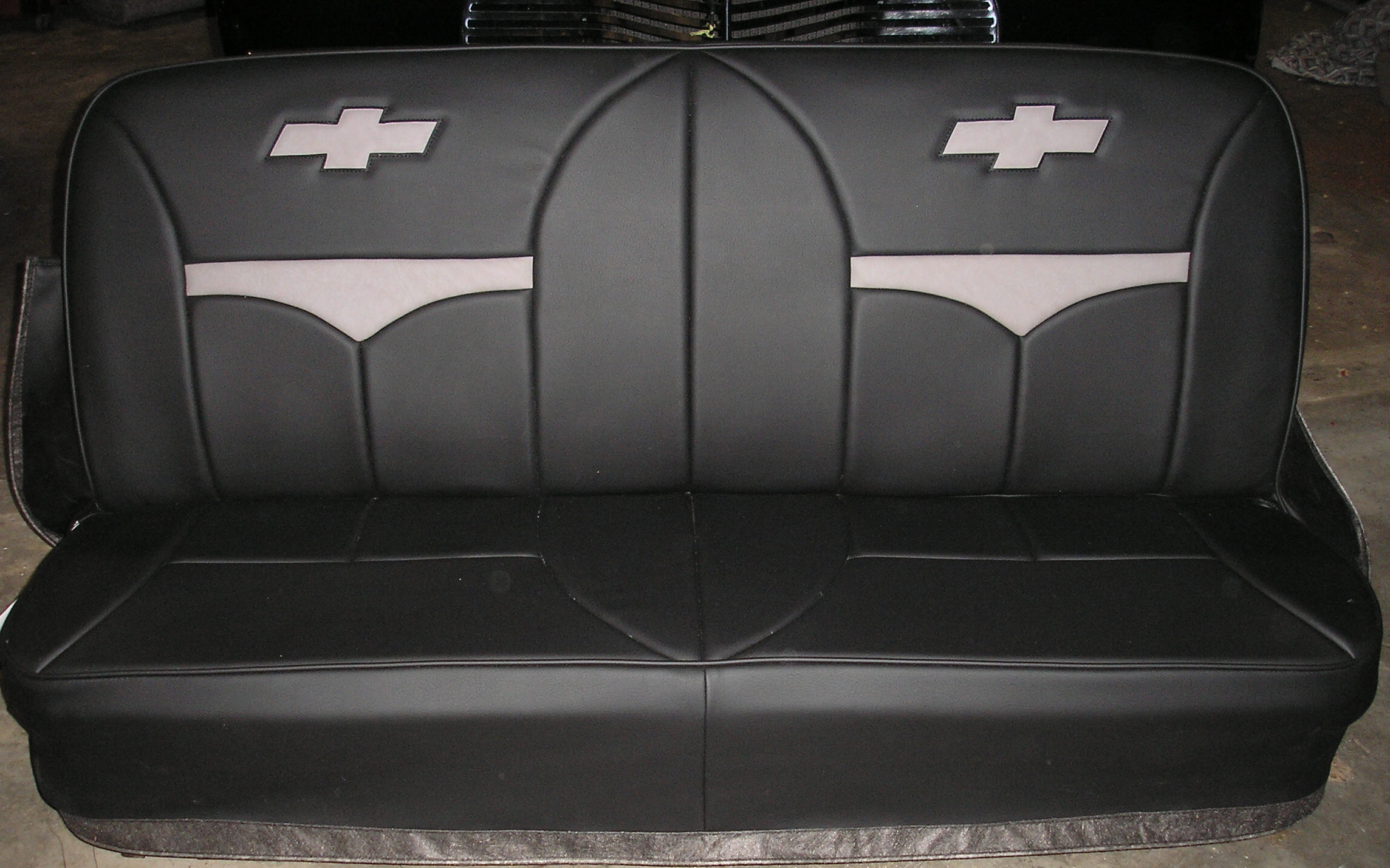 Mock Bucket Chevy Truck Bench Seat Covers