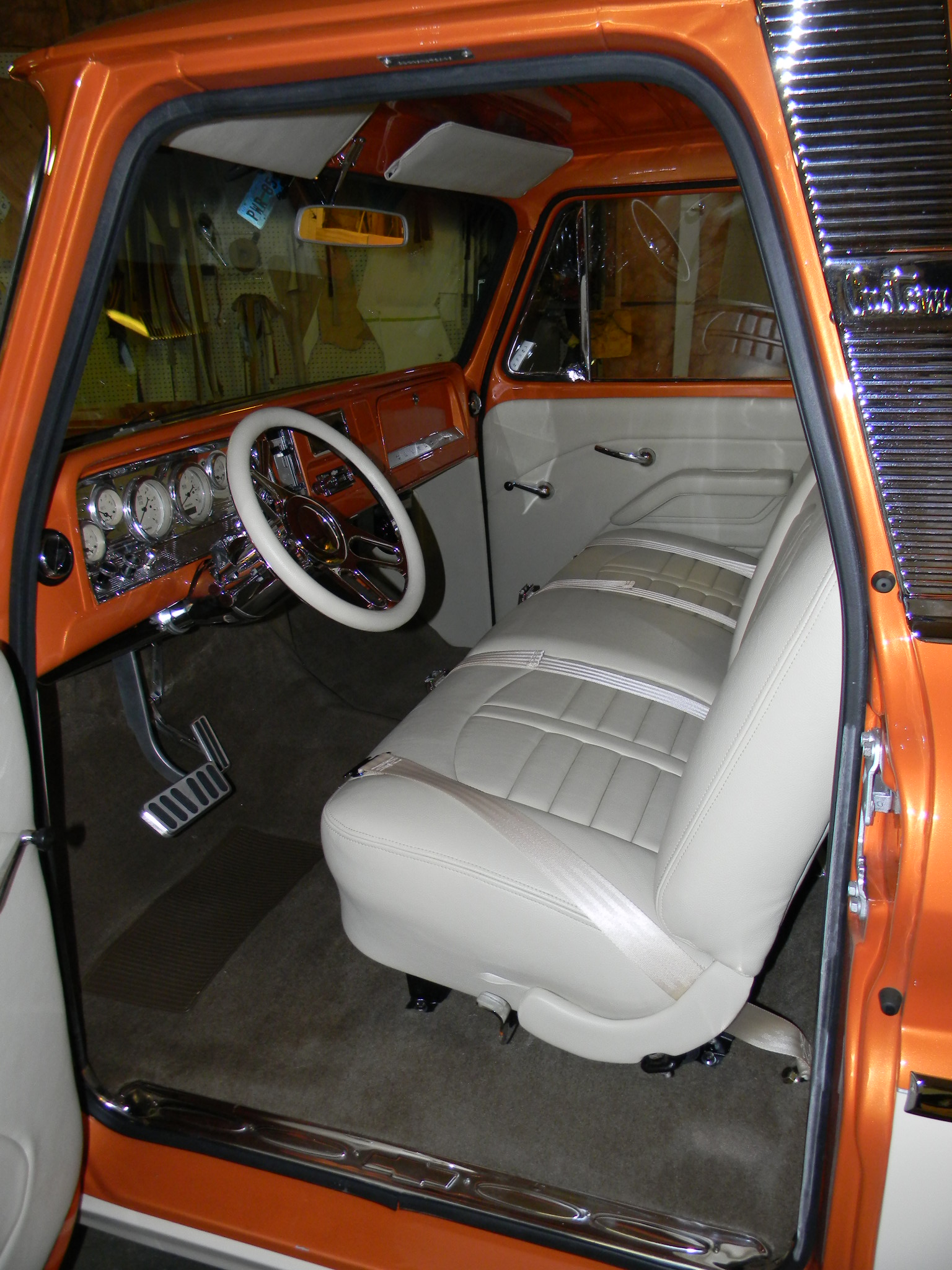 66 Chevy Truck Bucket Bench Seat