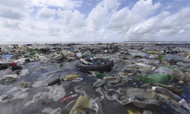 Floating Pacific Garbage Pile