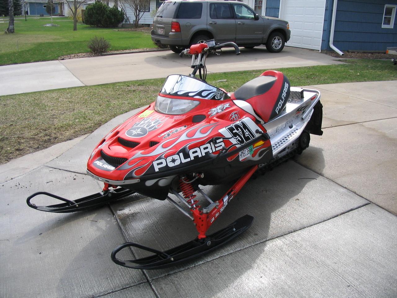 2001 Polaris Edge X 600