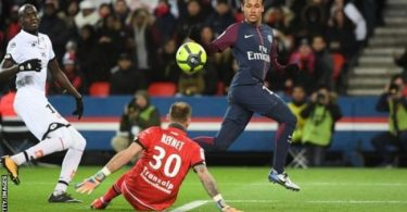 Neymar scores four, Cavani equals club record as PSG hammer Dijon
