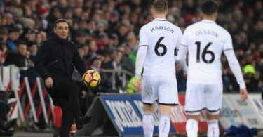 Swansea boss Carvalhal says club is 'breathing again' after stunning Arsenal
