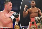 ​Anthony Joshua ​faces Joseph Parker in March​