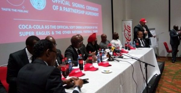 NFF partners with Coca-Cola, unveils Super Eagles 2018 World Cup program