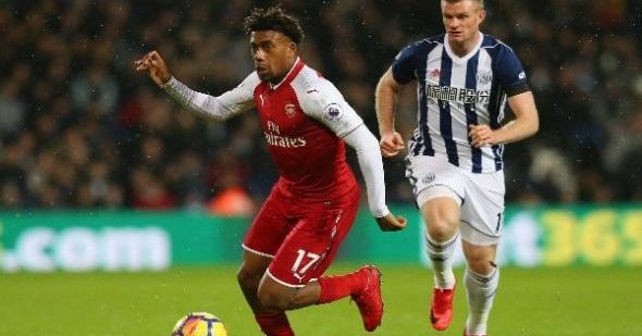 Iwobi starts in Arsenal's draw at West Brom