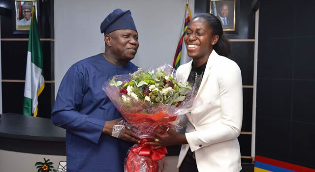 Ambode appoints Oshoala as sports ambassador